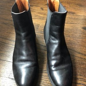 Frye Boots Black Leather
